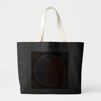 Abstract - Crayon - Andromeda Jumbo Tote Bag