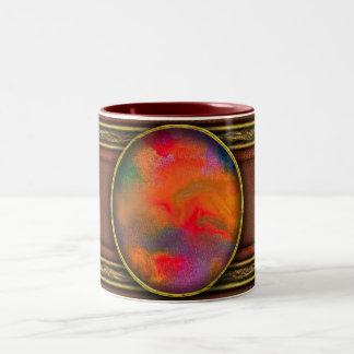 Abstract - Crayon - Melody Two-Tone Mug