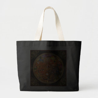 Abstract - Crayon - The Excitement Jumbo Tote Bag