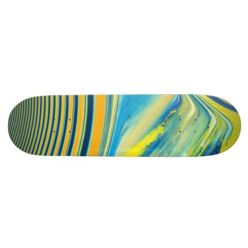 abstract creation skateboards