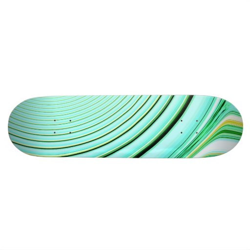 abstract creation skate board deck