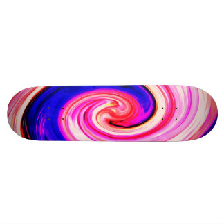 abstract creation skate board