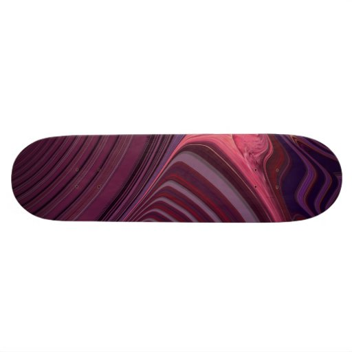 abstract creation skate decks