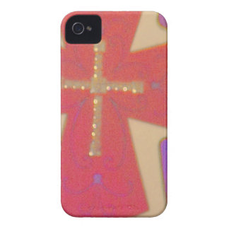 abstract cross iPhone 4 cases