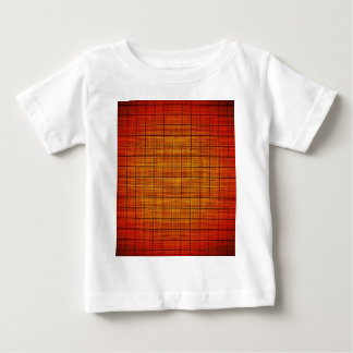 Abstract Crosshatch Orange and Black Shirt