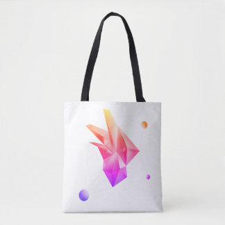 Abstract Crystal (Core Ipanema) Tote Bag