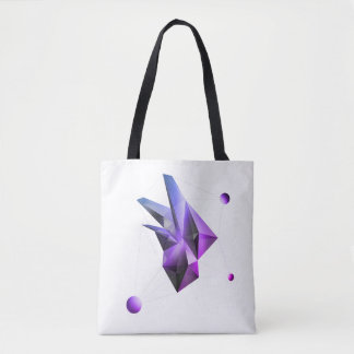 Abstract Crystal (Core Miami) Tote Bag