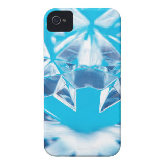 Abstract Crystal Reflect Break iPhone 4 Covers