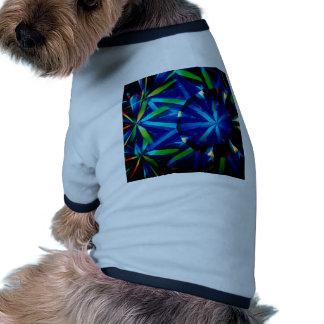 Abstract Crystal Reflect Bright Diamond Dog Clothes