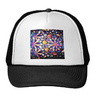 Abstract Crystal Reflect Bubbles Trucker Hats