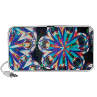 Abstract Crystal Reflect Eyes Speakers