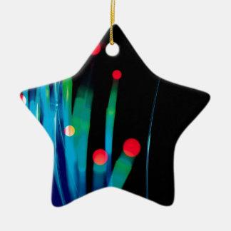 Abstract Crystal Reflect Grass Christmas Ornaments