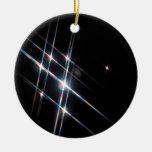 Abstract Crystal Reflect Matrix Ornaments