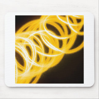 Abstract Crystal Reflect Rings Mouse Pads