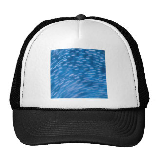 Abstract Crystal Reflect Round Trucker Hat