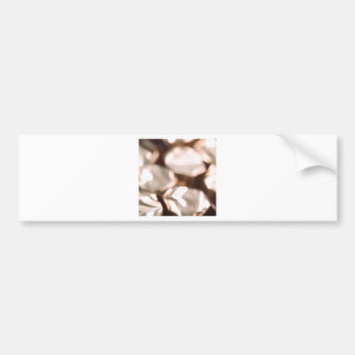 Abstract Crystal Reflect Stones Bumper Stickers