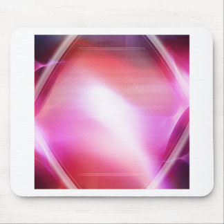 Abstract Crystals Pink Diamond Mouse Pads