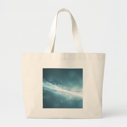 Abstract Crystals Spirited Leaves Bags