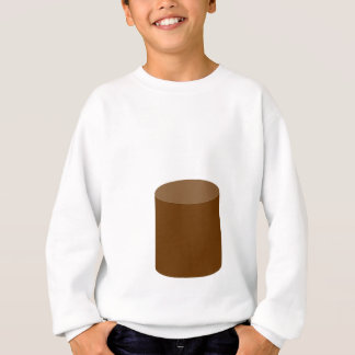 Abstract cup sweatshirt