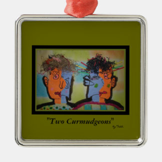 Abstract Curmudgeons Ornament