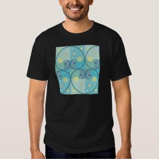 Abstract curves shirt