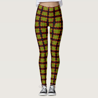 abstract custom leggings