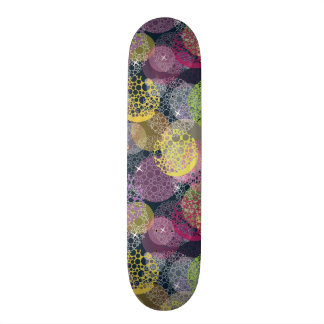 Abstract Cute Polka Dot Circle 19.7 Cm Skateboard Deck
