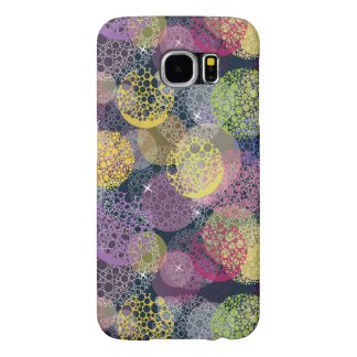 Abstract Cute Polka Dot Circle Samsung Galaxy S6 Cases