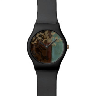 Abstract Damask Tapestry by Jennifer Goldberger Watches