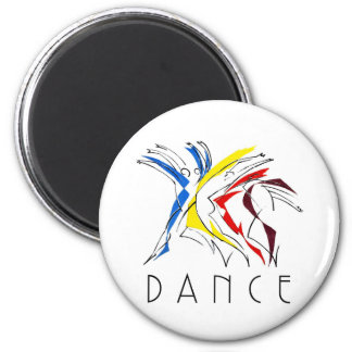 Abstract Dancers - Gotta Dance Refrigerator Magnets