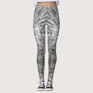 Abstract Dandelion Leggings