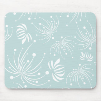 Abstract Dandelions Mousepad