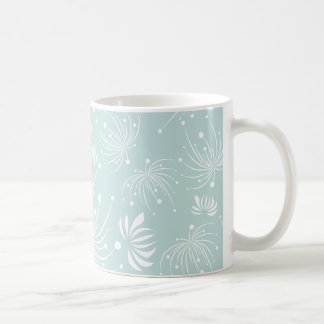 Abstract Dandelions Mug