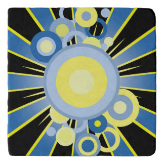 Abstract decoration trivets