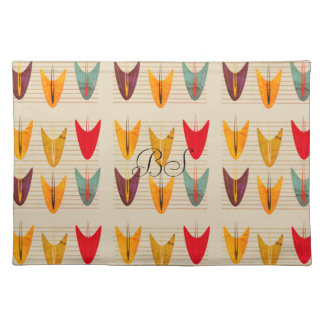 Abstract Decorative Tropical Pattern  Placemat