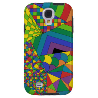 Abstract Design 1 Galaxy S4 Case