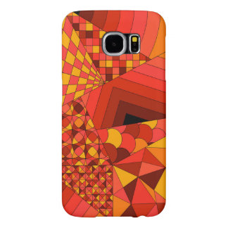 Abstract Design 1 Red