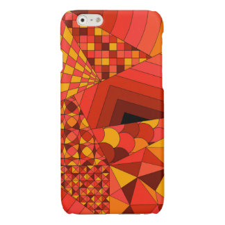 Abstract Design 1 Red iPhone 6 Plus Case