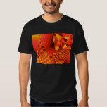 Abstract Design 1 Red Men's Basic Dark T-Shirt