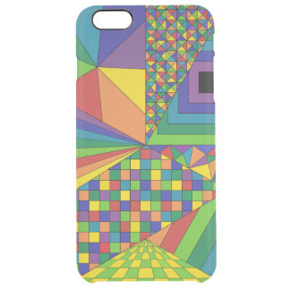 Abstract Design 2 Clear iPhone 6 Plus Case