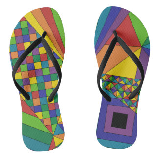 Abstract Design 2 Flip Flops