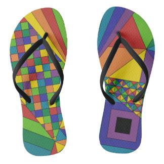 Abstract Design 2 Flip Flops