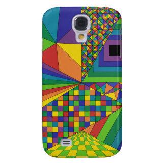 Abstract Design 2 Galaxy S4 Case