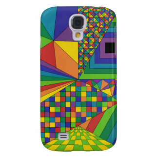 Abstract Design 2 Galaxy S4 Case