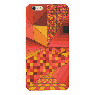 Abstract Design 2 Red iPhone 6 Plus Case