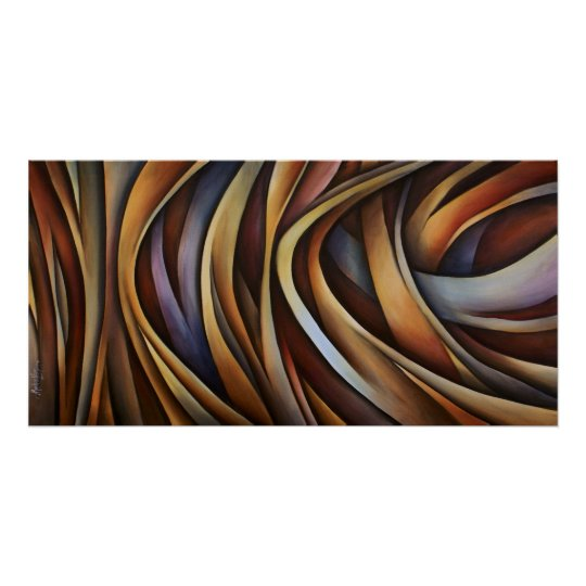 Abstract design 3 poster