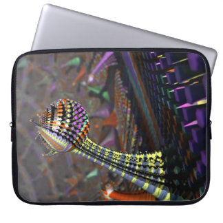 abstract design 3D fractal Laptop Sleeve