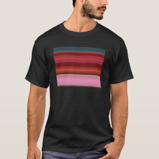 Abstract Design Adult Black Tee Shirt