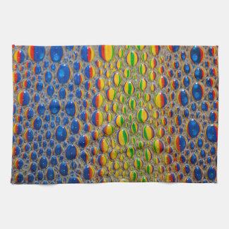 Abstract Design Animal Skin Effect Tea Towel