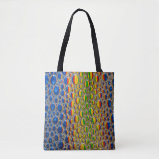 Abstract Design Animal Skin Effect Tote Bag